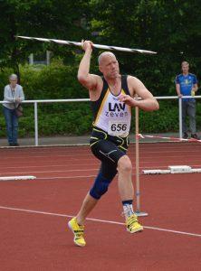 In der Altersklasse M40 wurde Christoph Muche dreifacher Titelträger.