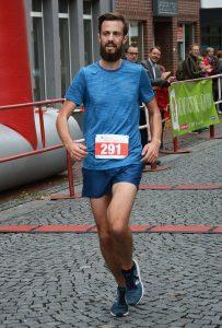 Mario Callsen-Bracker (Ohne Verein, M30, 37:19 min) war über die 10km-Distanz der schnellste Läufer.