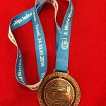 Mit dieser WM-Bronzemedaille im Gepäck ging es aus Polen zurück nach Heeslingen.