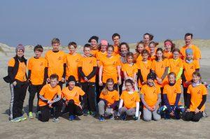 Die Gruppe der LAV Zeven und des TV Scheeßel absolvierte vor den Osterfeiertagen ein Trainingslager auf der Nordseeinsel Borkum.