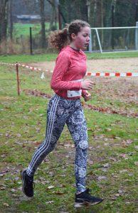 Marlene Mohr lief über die 1670m mit 8:21 auf den ersten Platz in der Wertung der Jugend W12.