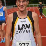 Am Sonnabend nahm Marcel Frank (Mit der Startnummer Nr. 277) über die 5000m bei den Landesmeisterschaften der Senioren in Zeven teil. Schon am folgenden Tag startete er beim Halbmarathon in Bremerhaven, wo er in seiner Altersklasse den ersten Platz belegte.