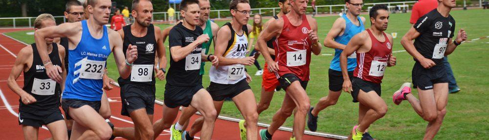 Marcel Frank (Nr. 277) lief am Sonnabend über die 5000m auf den dritten Rang in seiner Altersklasse.