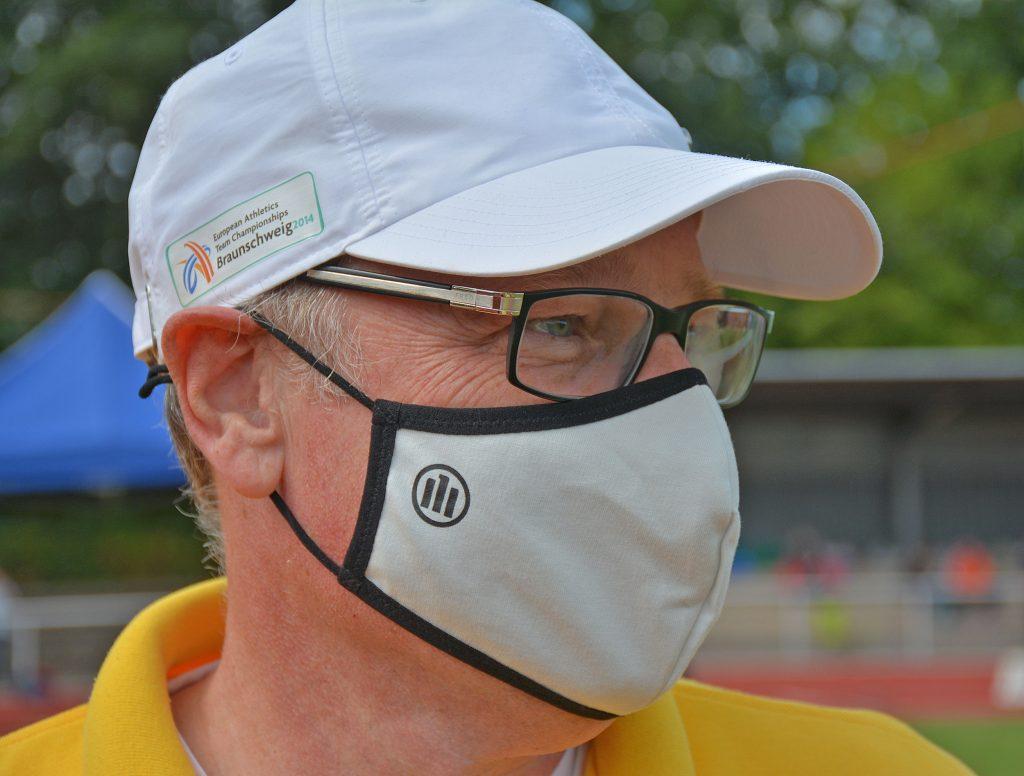 In einigen Bereichen war zur Einhaltung der Hygienevorgaben das Tragen einer Mund-Nasen-Maske nötig.
