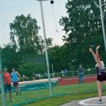 Lena Behrens verbesserte ihren eigenen Kreisrekord im Hammerwurf der WJ U20 auf nun 24,88m.