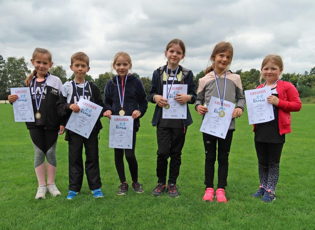 """Eine sehr junge Mannschaft waren die """"Grashüpfer"""" aus Zeven, welche auf den 7. Platz kamen. (Foto: Lena Dohrmann)"""