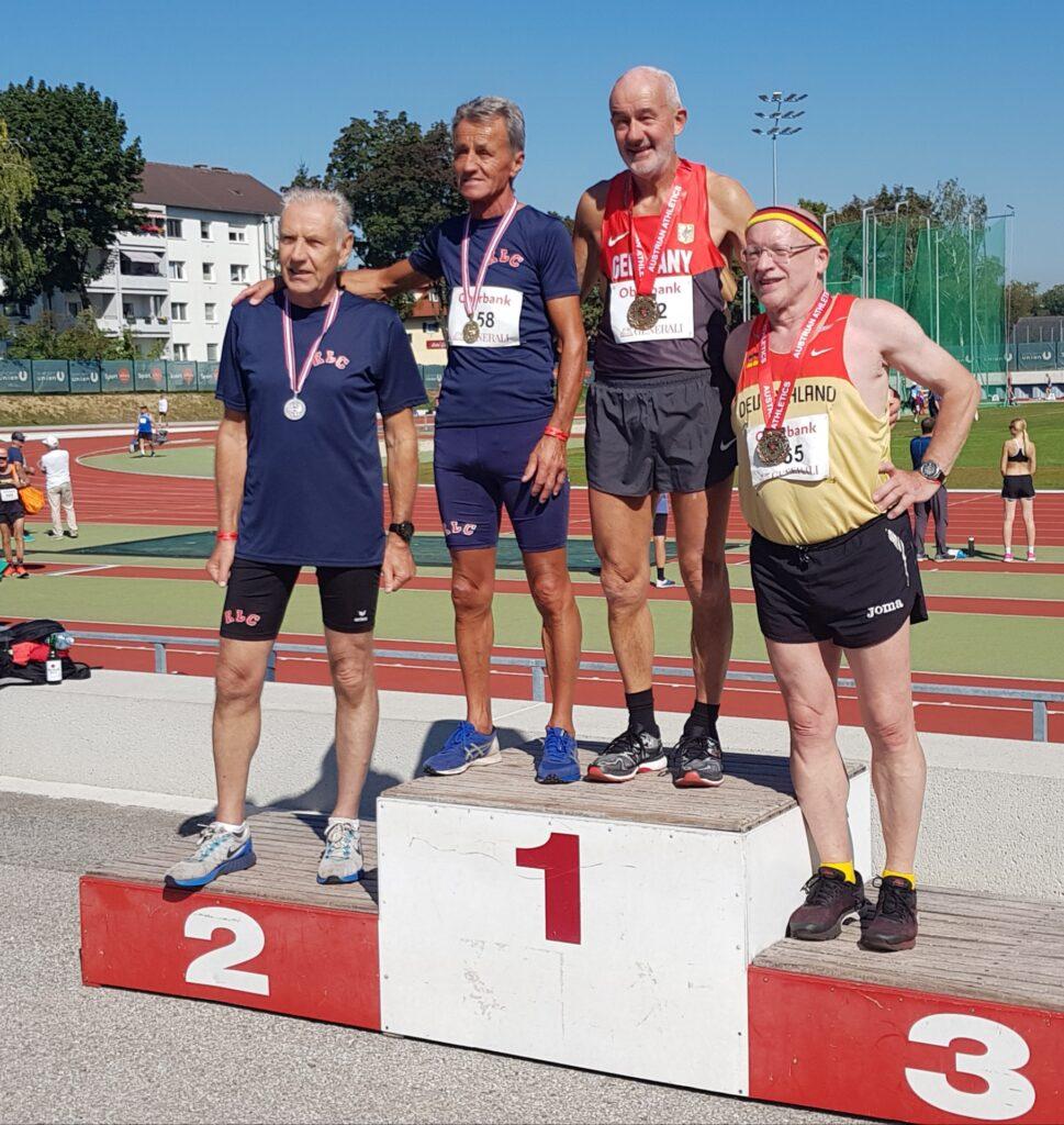 Siegerehrung 200 Meter
