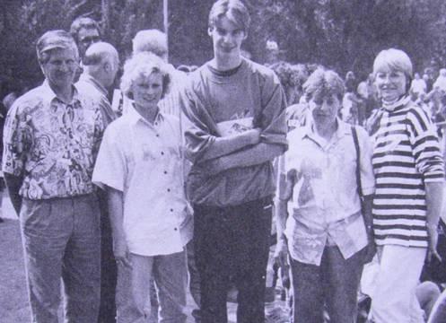 Familie Holsten aus Rüspel mit Sigrid Mundt