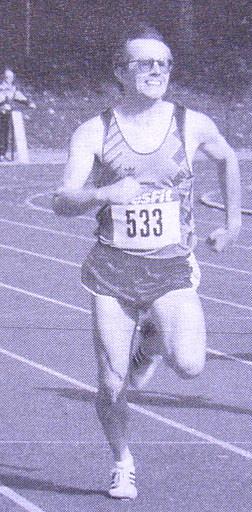 Karl Wolf Deutscher Meister 4x400m Staffel M40 in Minden